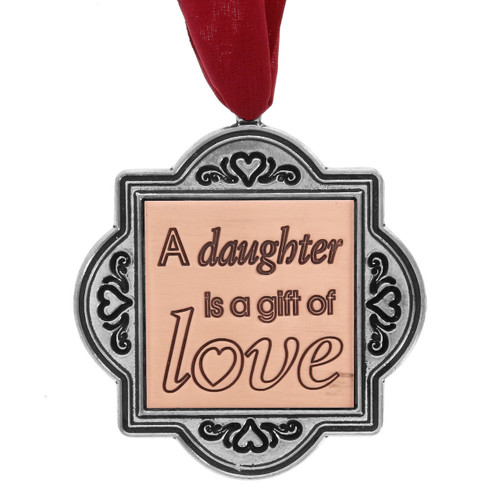 A Daughter is a Gift of Love Ornament