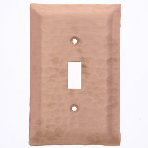 Waterfall Single Switch Plate Cover (Copper)