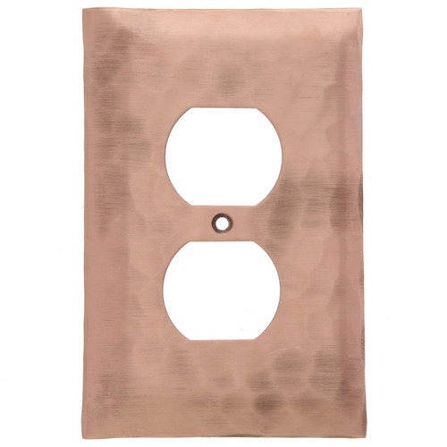 Waterfall Single Outlet Cover (Copper)