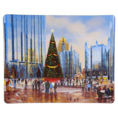 Skating Together at PPG Place Luminosity Accessory Tray