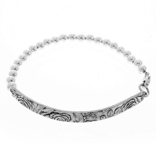 Rose Beaded Bracelet