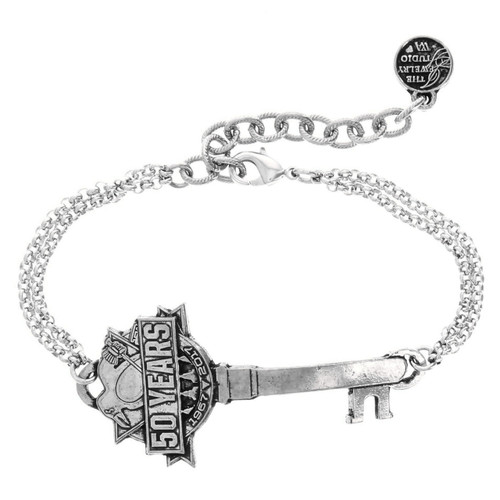 Pittsburgh Penguins 50th Anniversary Key to Victory Bracelet