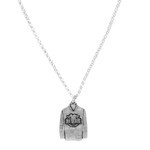 Pittsburgh Penguins 50th Anniversary Jersey Necklace