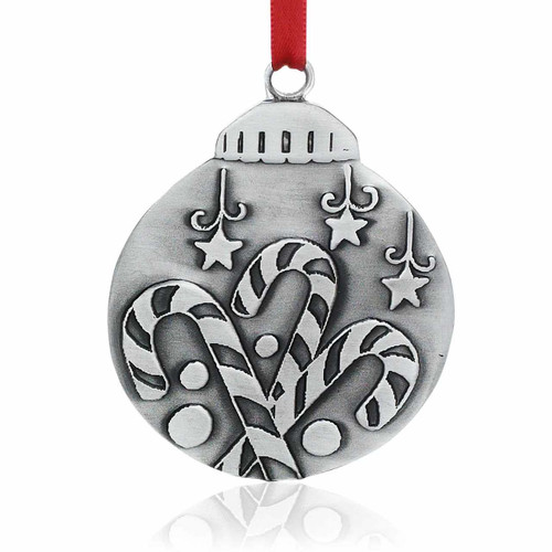 Meaning Of Christmas Candy Cane Ornament, Old Forge Pewter