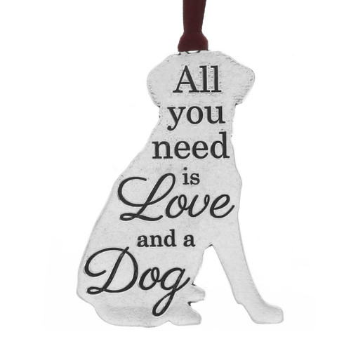 All You Need is Love and a Dog Ornament