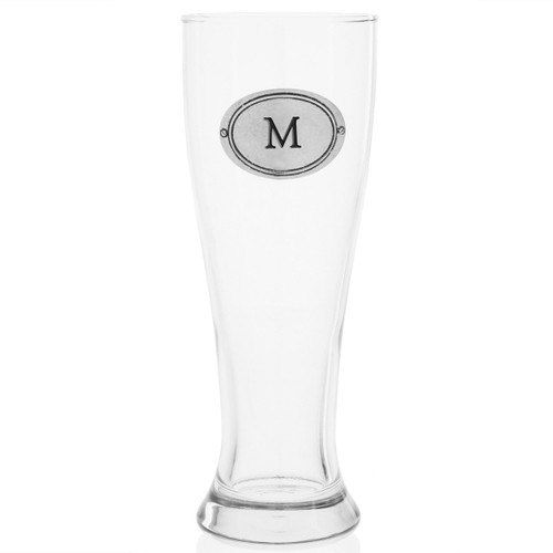 Personalized Oval Pilsner Glass