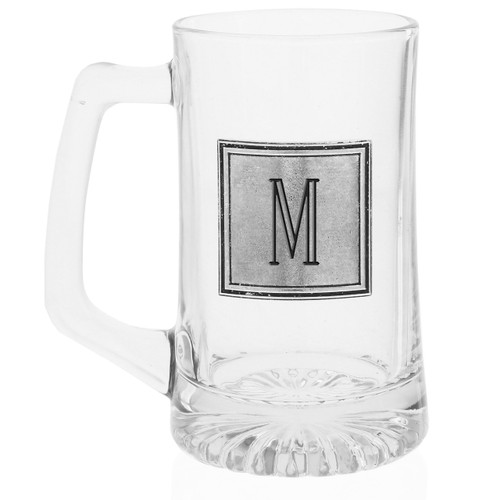 Personalized Square Beer Mug