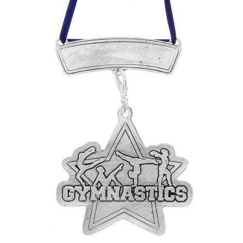Personalized Gymnastics Sports Ornament