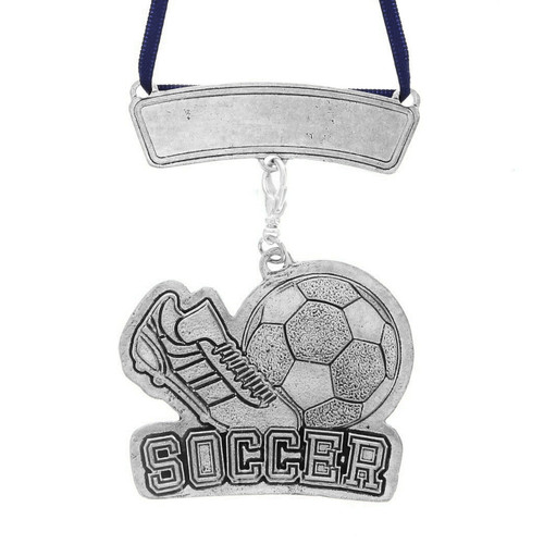 Personalized Soccer Sports Ornament