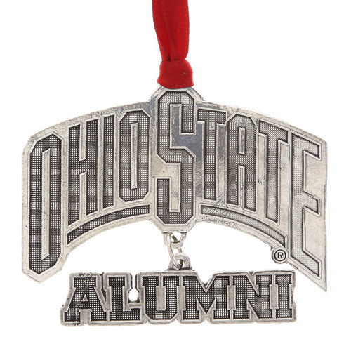 Ohio State Alumni Dangling Ornament