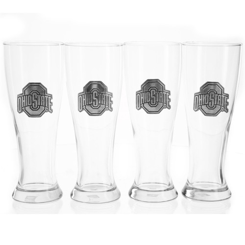 Ohio State 4-Piece Pilsner Set