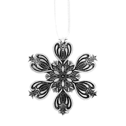 Love Snowflake Ornament