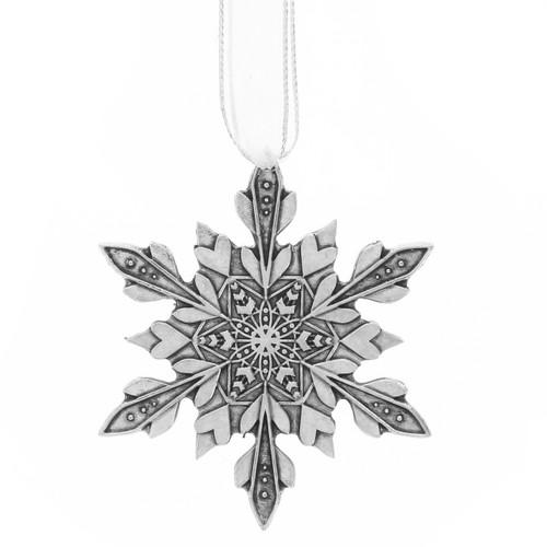 Memory Snowflake Ornament
