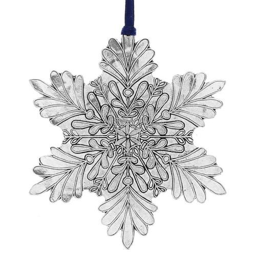 whimsical snowflake ornament