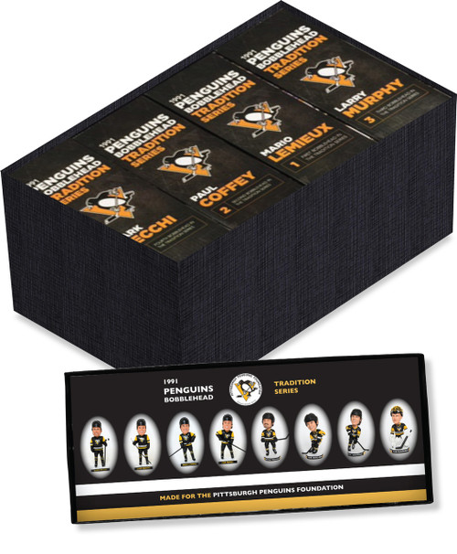 Pittsburgh Penguins Bobblehead Tradition Series Collector's Pack