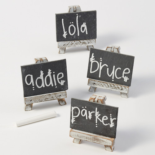 Mini Chalkboard with Easel