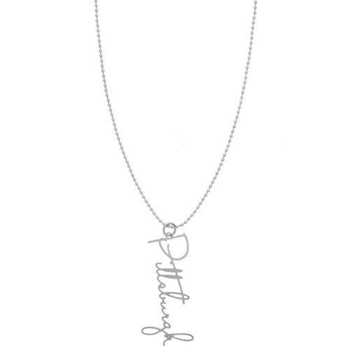 Pittsburgh Script Necklace