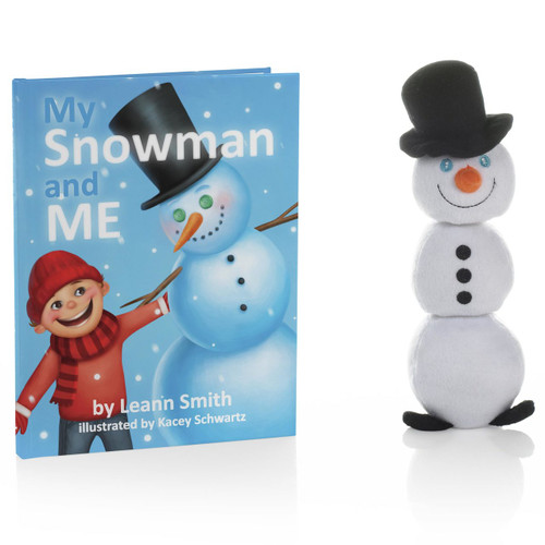 My Snowman and Me Book, Buildable Snowman and Keepsake Box