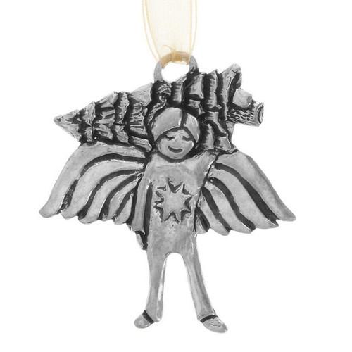 Oren Pine Angel Ornament