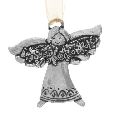 Neva Snow Angel Ornament