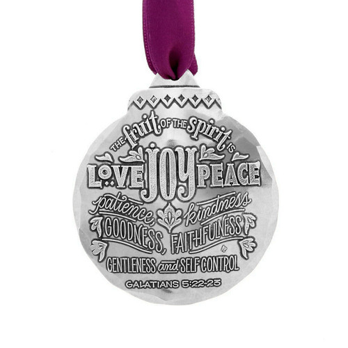 Fruit of the Spirit Religious Christmas Ornament