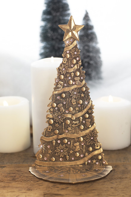 Bronze Standing Christmas Tree