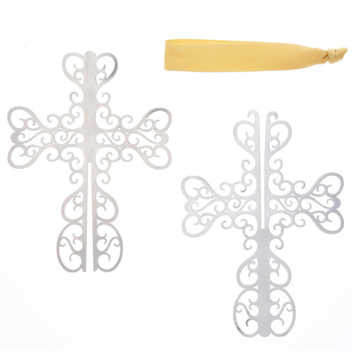 Silhouette Holy Cross Ornament Disassembled