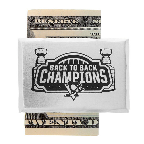 Pittsburgh Penguins Back to Back Money Clip