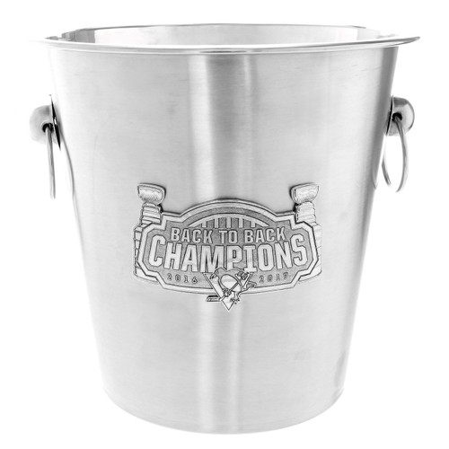 Pittsburgh Penguins Back to Back Champions Champagne Bucket