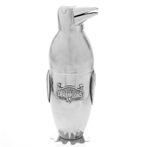 Pittsburgh Penguins Back to Back Champions Cocktail Shaker