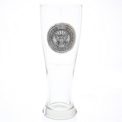 US Navy Pilsner Glass