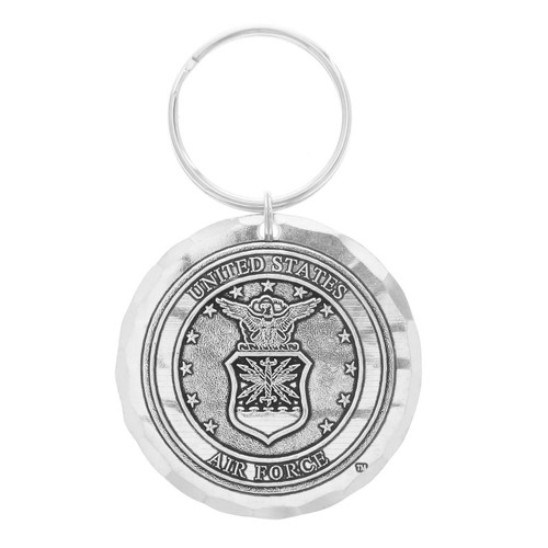 US Air Force Round Key Ring
