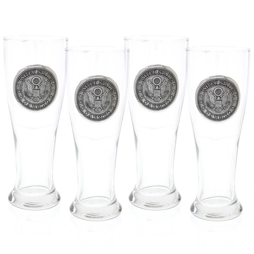 US Army Pilsner Set of Four