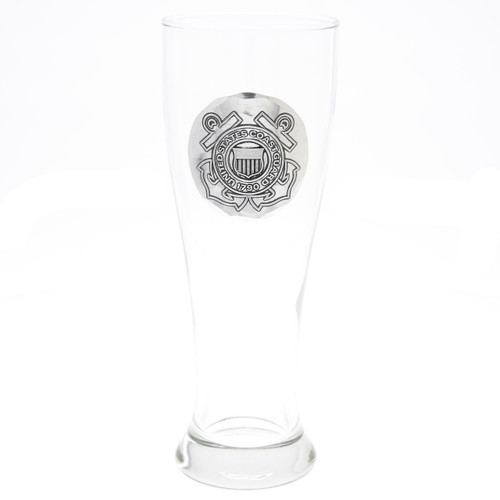 US Coast Guard Pilsner Glass