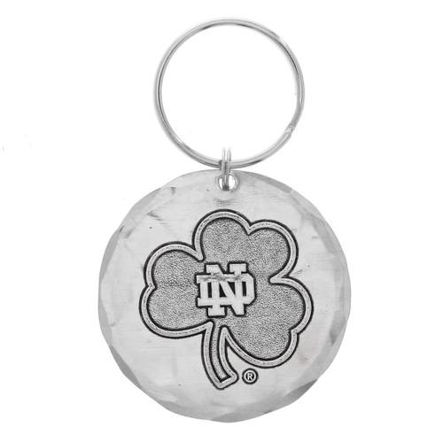 Notre Dame Round Key Ring