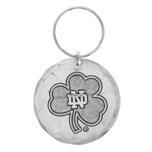 Notre Dame Round Key Ring