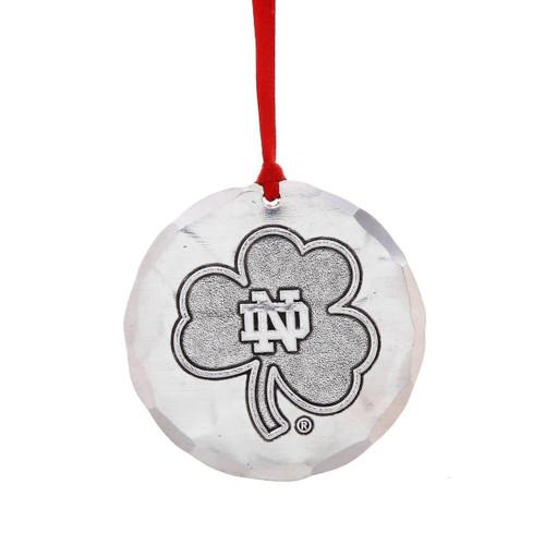 Notre Dame University Round Ornament