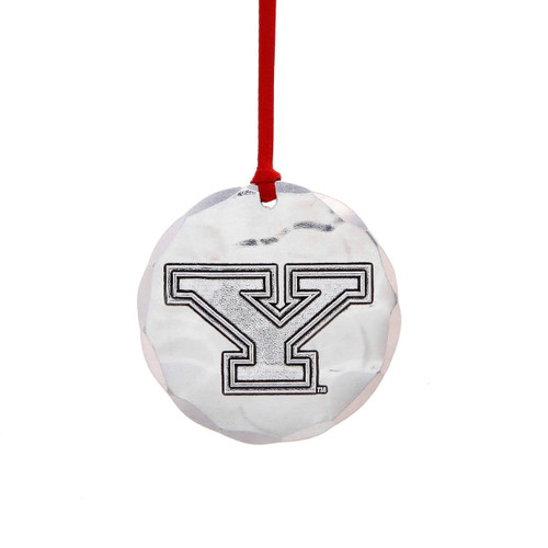 Youngstown State Round Ornament