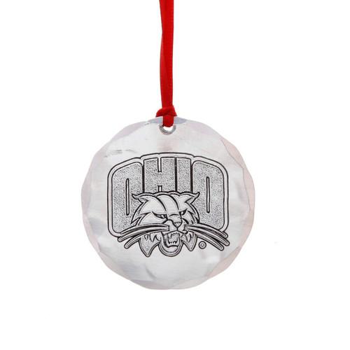 Ohio University Round Ornament