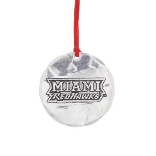 Miami University of Ohio Round Ornament