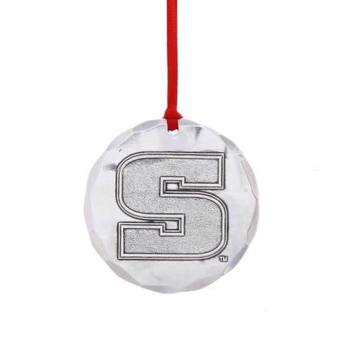 Slippery Rock University Round Ornament