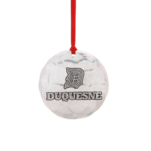 Duquesne University Round Ornament