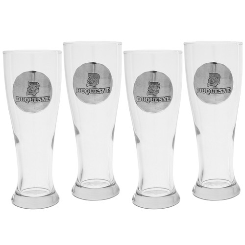 Duquesne University Pilsner 4 PC Set