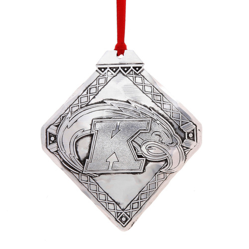 Kent State University Classic Diamond Ornament