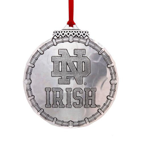 Notre Dame Irish Classic Round Ornament
