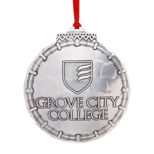 Grove City College Classic Round Ornament