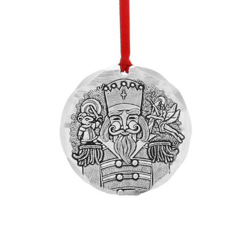 2018 Annual Christmas Ornament - The Nutcracker- Aluminum