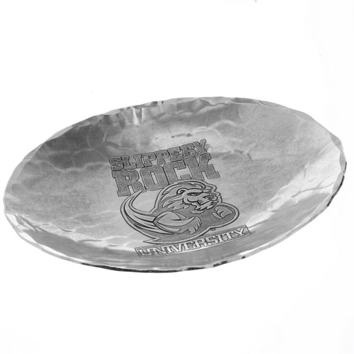 Slippery Rock University Small Oval Dish