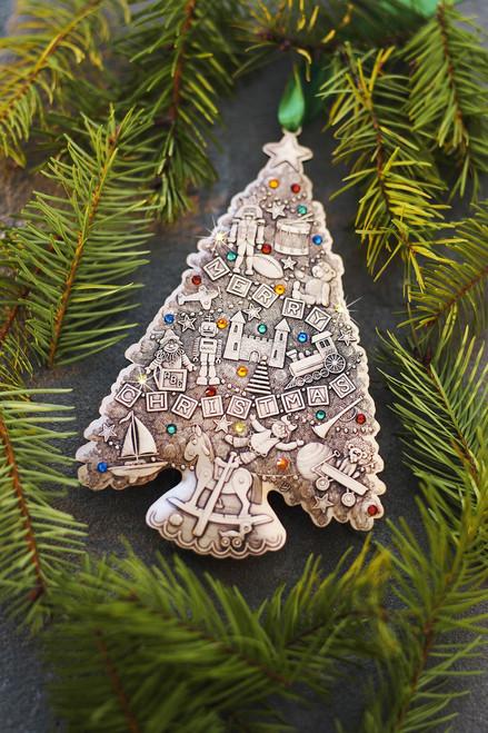 Oh Christmas Tree Oh Christmas Tree.Limited Edition Oh Christmas Tree Ornament Christmas Toys Bronze