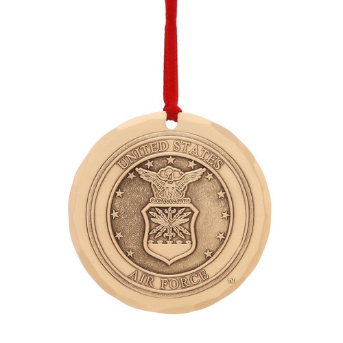 US Air Force Ornament (Bronze)